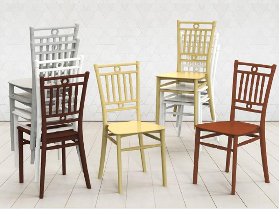 Ghế nhựa Bamboo Furnist