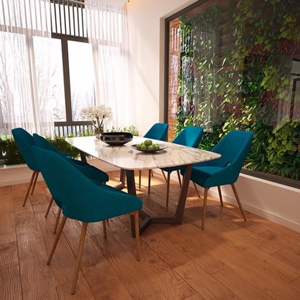 Ghế bọc vải cho phòng ăn