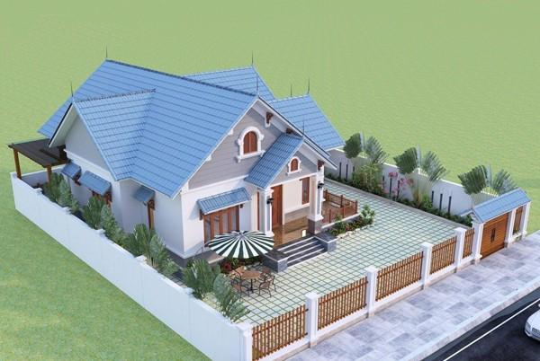 Đưa không gian xanh vào thiết kế biệt thự